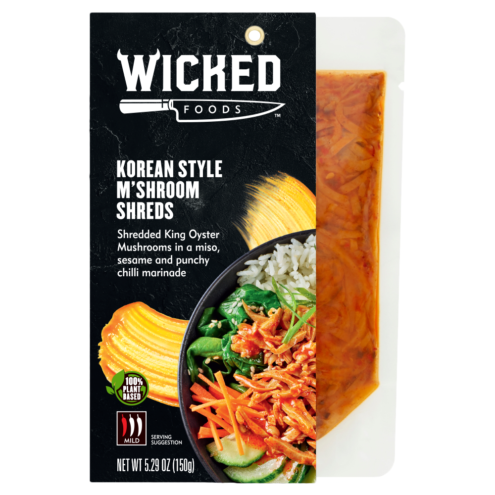 KOREAN STYLE M'SHROOM SHREDS