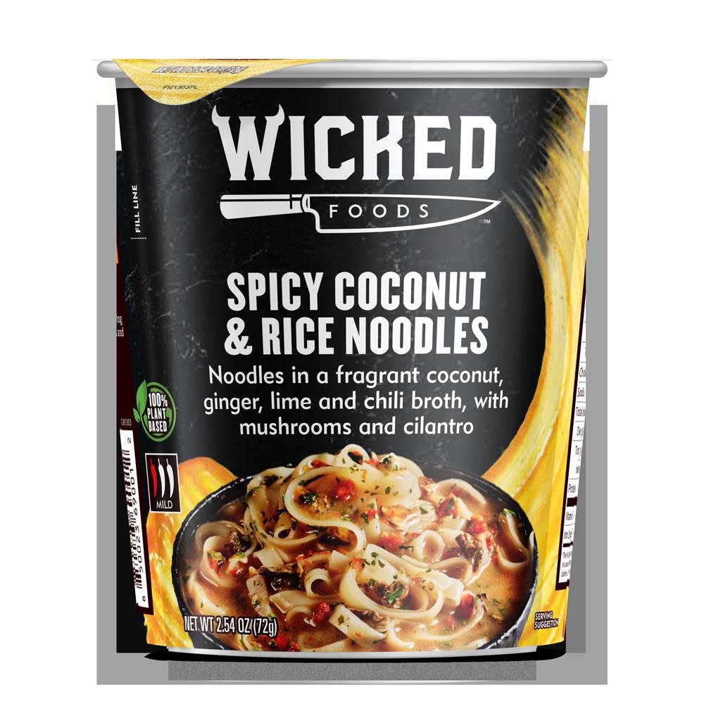 SPICY COCONUT & RICE NOODLES