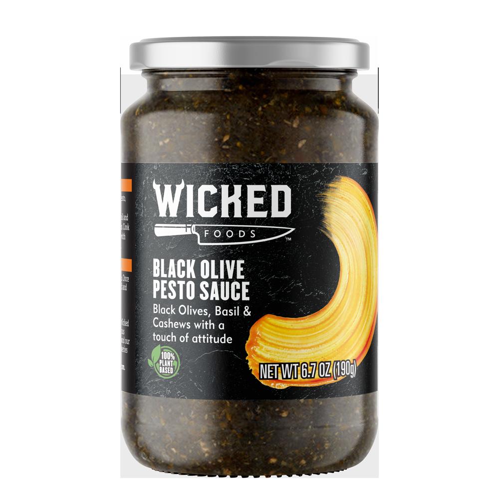 BLACK OLIVE PESTO SAUCE